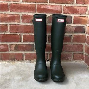Hunter's Women's Original Tall Rain Boots